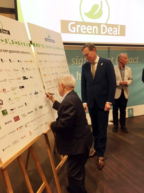 Green Deal ondertekening